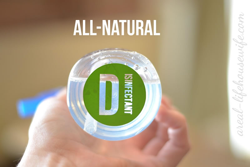 How to Make Your Own All-Natural Disinfectant Spray