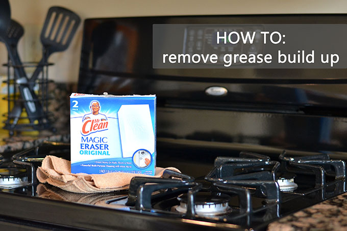 How to Remove Grease from Kitchen Appliances