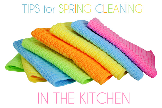 Kitchen Spring Cleaning Tips