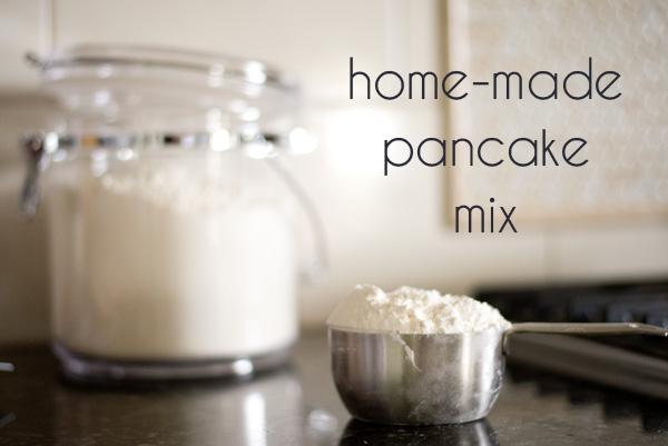 Homemade Pancake Mix in Bulk